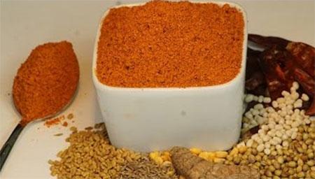 Sambar Podi / Sambar Powder Recipe in Tamil / How to make Sambar Podi