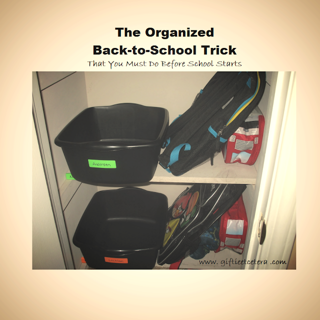 organize, launch pads, back-to-school