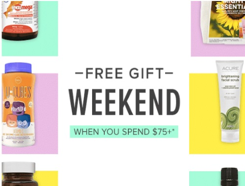 Well.ca Free Gift Weekend