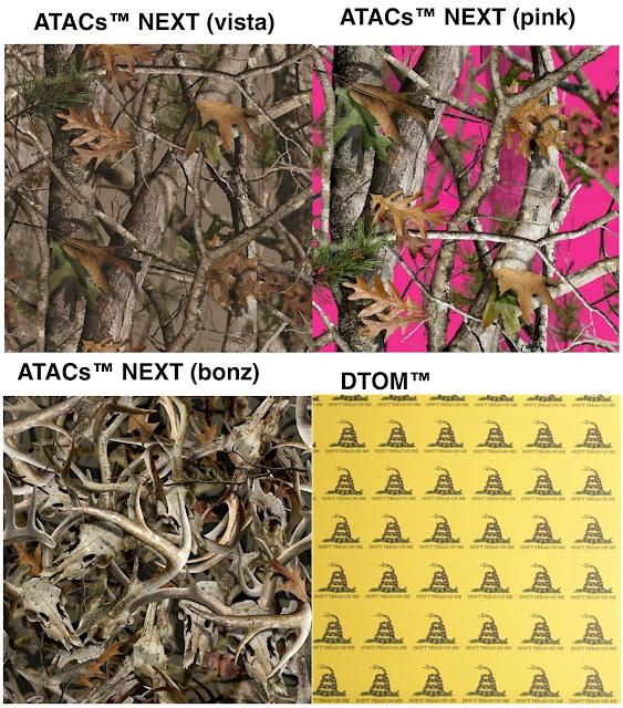 custom camouflage kydex patterns