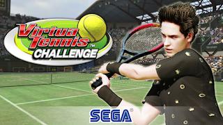 imagem do jogo Virtua Tennis Challenge