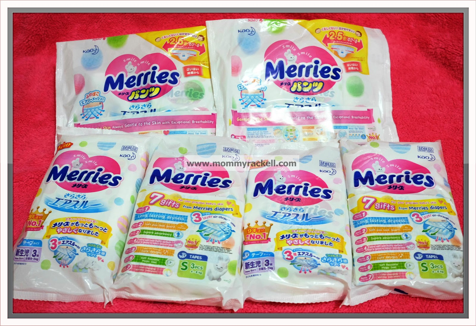 Product Review Wear A Smile With Merries My Little World By Mommy Baby Diapers New Born 24 S Diaper Is So Gentle To The Babies Sensitive Skin Like Daughter Material Soft From Inside And Out While Quickly Absorbing Urine