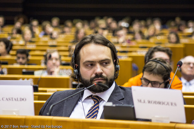 European Deputy - Stand Up For Europe - Parlement européen - Photo by Ben Heine