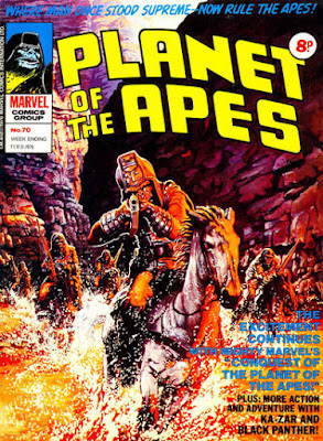 Marvel UK, Planet of the Apes #70