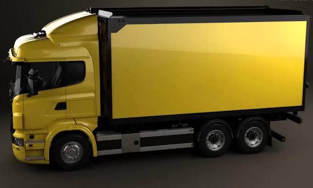 truk wing box tronton keren dan elegan