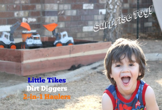 Surprise Toy: Dirt Diggers #LittleTikes