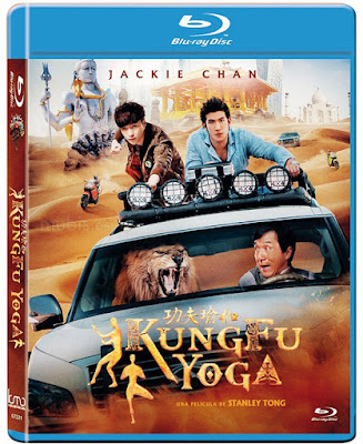 Kung Fu Yoga 2017 Hindi Dubbed Dual Audio ORG 300mb