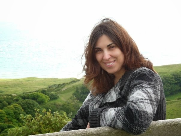 Me during my first visit to the Isle of Wight in 2009