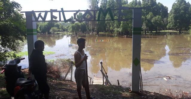 Hujan Deras, Wisata Lubuk Tembesu Terendam