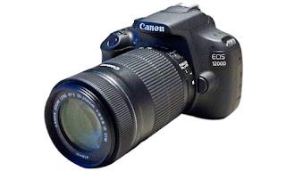Harga dan Spesifikasi Kamera Canon EOS 1200D Baru 2016