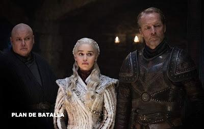 Daenerys Tangaryen en Game of Thrones 8x02