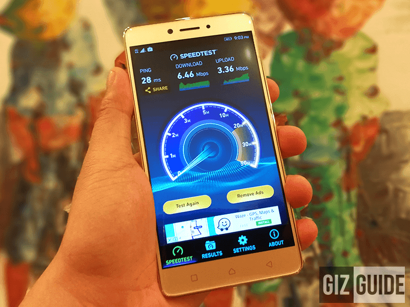 Higher speed maybe achieved using better LTE phones