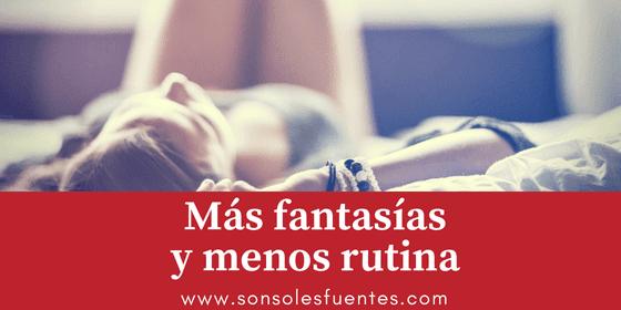 Más fantasías sexuales para combatir la rutina sexual