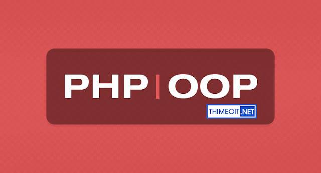 Học lập trình web PHP hướng đối tượng