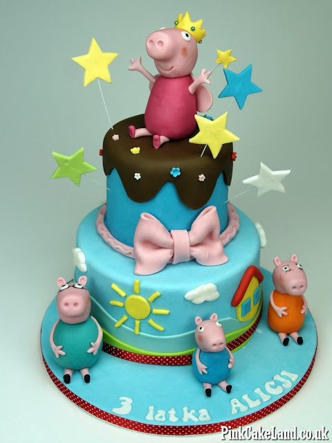 Birthday Cakes Peppa London