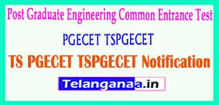 TSPGECET 2019 Notification Download