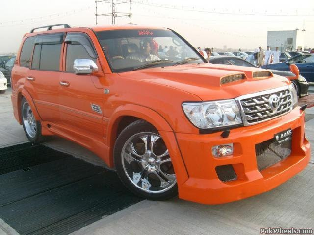 BMW Birmingham Al >> Orange Toyota Land Cruiser ~ Modified Cars And Auto Parts