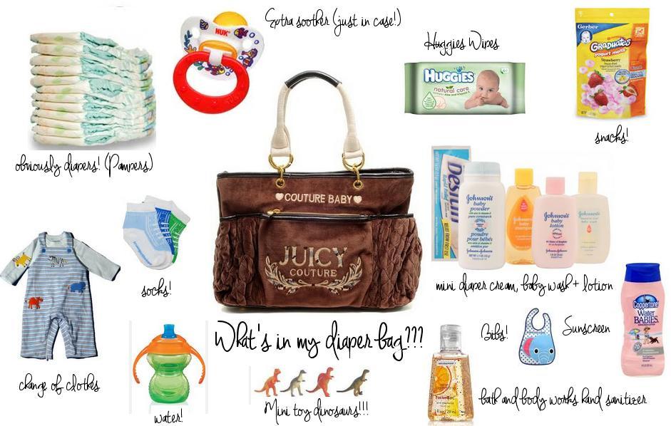 feea9598b6 3 mommies  What s In My Diaper Bag  - Mommy Olivia