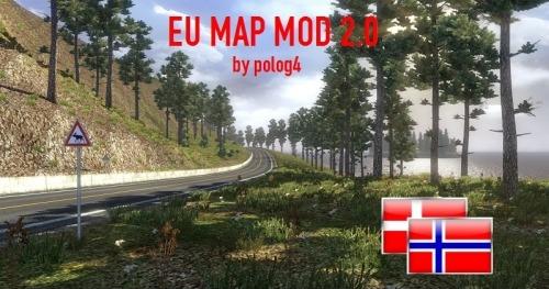 EU MAP MOD 2.0 by polog4