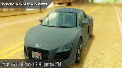 GTA SA - Audi R8 Coupe 4.2 FSI Quattro 2008