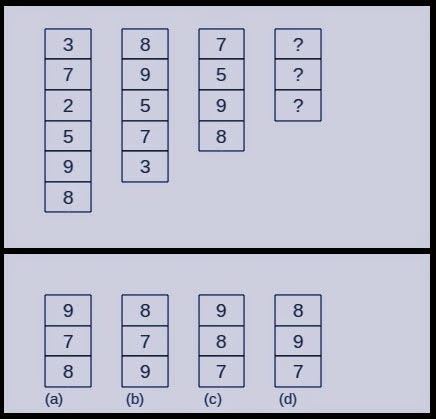 Blocks Sequence Puzzle