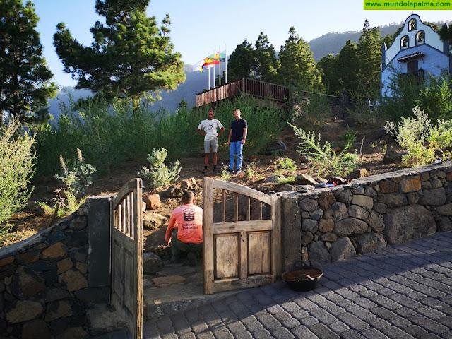 Los visitantes al Pino de La Virgen de El Paso, podrán acceder a las ruinas de la antigua Capilla de forma controlada