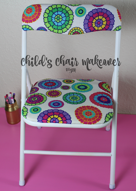 Children chair makeover