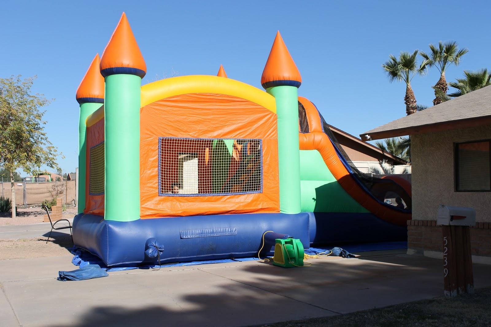 Frozen Bounce House Rental In Mesa Az Party Invitations