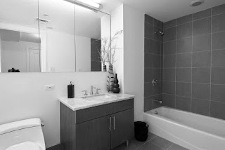 Grey-and-White-Bathroom-Ideas-White-Bathub-Grey-Walls
