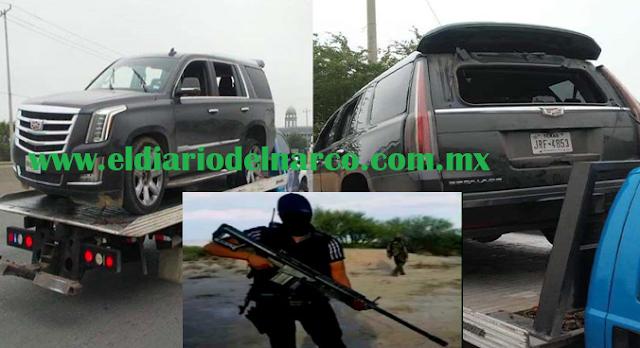 VIDEO Militares fueron atacados con barrets calibre 50 y granadas por sicarios del CDN en Nuevo Laredo, Tamaulipas.