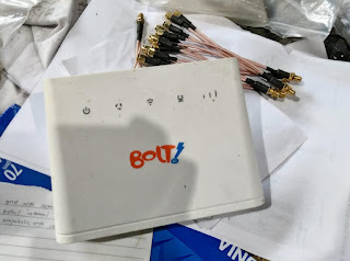 Inilah Pigtail Khusus untuk Modem 4G  Huawei  B310 BL100 dan Bolt helios