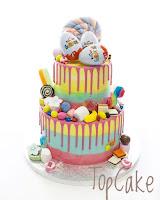 Karkkikakku, Lasten kakku, Juhlakakku, Kerroskakku, Kreemipintainen kakku, Suklaa, Suklaakakku,  topcake, täytekakku, Kinder kakku, Kinder suklaa, Kinder chocolate, Kinder munat, Kinder eggs