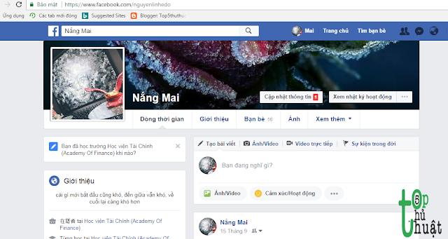Cách để biết ai thường xuyên ghé thăm Facebook của bạn