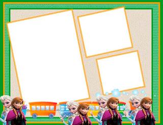 molduras para fotos infantil gratis