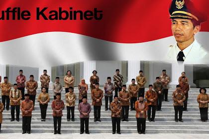 Enam Fakta Unik di Balik Reshuffle Menteri Oleh Presiden Jilid 2