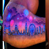 11 Kick-Ass UV Tattoos To Make You Glow In The Dark
