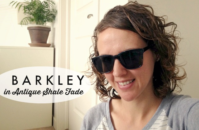 Warby Parker Prescription Sunglasses // barkley in antique shale fade