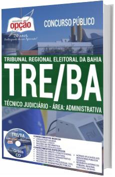 Apostila concurso TRE-BA 2017 Técnico Judiciário