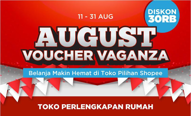 Voucher Shopee Jual Perlengkapan Dapur via Online