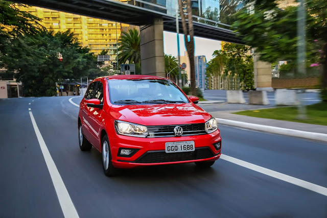 Novo VW Gol 2019 Automático - test drive