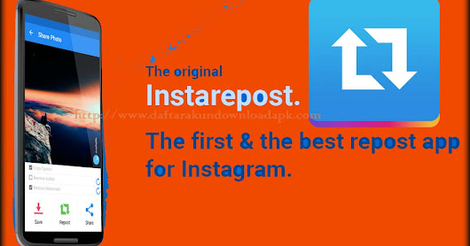 REPOST APP FOR INSTAGRAM / Aplikasi dan Cara Repost Foto Video Instagram