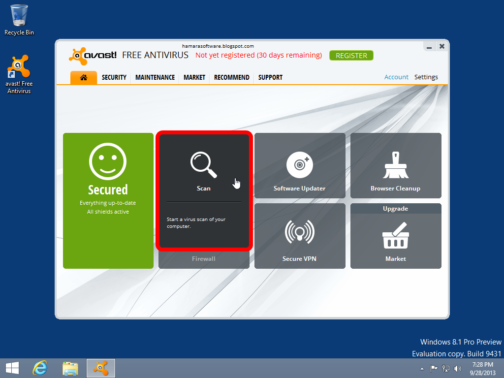 latest antivirus software for pc free download