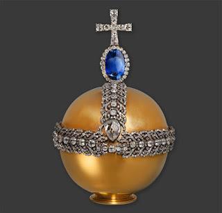 Держава, изготовлена для коронации Екатерины II.