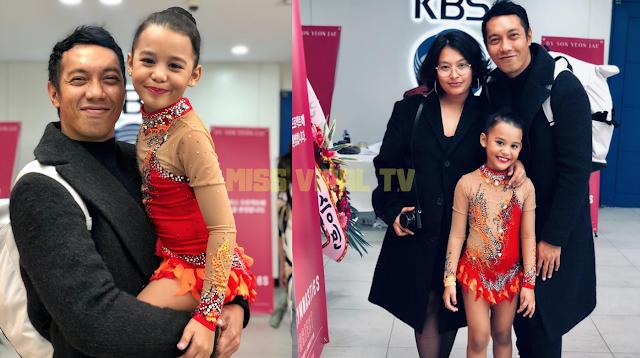 Nabila Huda Bangga Anak Sertai Pertandingan Gymnast Di Korea