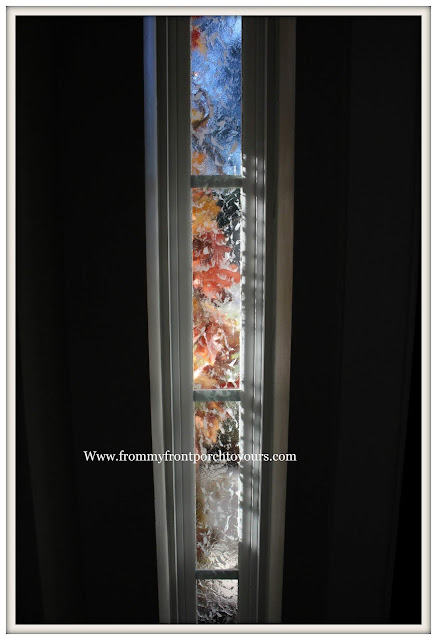 Privacy-Front Door Windows-DIY-Side Lights-Door-Gallery Glass-From My Front Porch To Yours