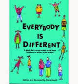 Everybody is Different, Autism Awareness www.bellybuttonpanda.co.uk