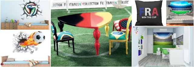 Home Decorations Inspired By Football World Cup