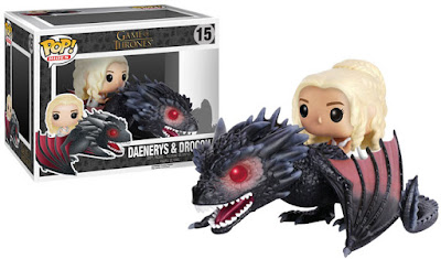 Game of Thrones Pop! Series 6 by Funko – Drogon Pop! Ride with Daenerys Targaryen