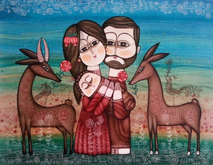 Грузинский художник. Armen Vahramyan