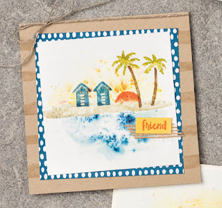Stampin' Up! 5 Gorgeous Waterfront Projects ~ 2018 Occasions Catalog